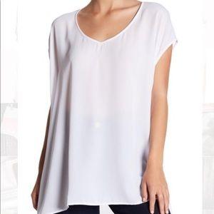 SHOW ME YOUR MUMU soaree white tunic blouse